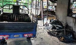 ไฟไหม้ร้านค้าในชุมชน เจ็บ 3 ราย หวิดย่างสดยกครอบครัว