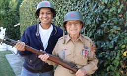 หนุ่มตระเวนทั่วอเมริกา ตามหาทหารผ่านศึกช่วงสงครามโลกครั้งที่ 2