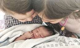 """ต้อนรับสมาชิกใหม่ พอลล่า คลอดลูกคนที่ 3 ตั้งชื่อน่ารัก """"น้องเอลล่า"""""""