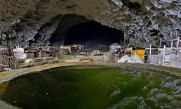 ที่นี่ไม่เห็นแดดตลอดทั้งปี คนจีนเกือบร้อยชีวิตอยู่หมู่บ้านในถ้ำลึก