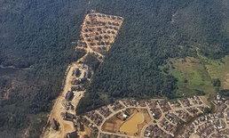 ชาวเน็ตวิจารณ์ ภาพมุมสูงบ้านพักตุลาการดอยสุเทพ ไหนบอกไม่ทำลายป่า?