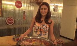 อาหารดีพริตตี้สวย! แห่ชิมชาบูถาดยักษ์ เจ้าของเป็นพริตตี้สาวสวยสร้างสีสันที่เชียงใหม่