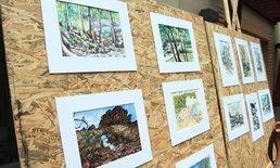 รักบ้านเกิด 49 ศิลปิน ร่วมถ่ายทอดความประทับใจผ่านภาพวาดแหล่งท่องเที่ยวตรัง