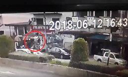 วินาทีชีวิต! กล้องจับภาพสาวถูกรถชนลอยละลิ่วตกพื้นเจ็บสาหัส ขณะนี้อาการปลอดภัยแล้ว