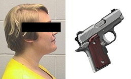 """จุกแย่! ศาลสั่งจำคุกสาวมะกัน ซ่อนปืนพกใน """"จิ๊มิ"""" หวังพ้นสายตาตำรวจ"""