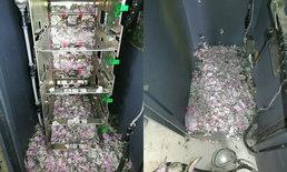 """""""ตำรวจอินเดีย-ช่างซ่อม"""" รุดเช็กเอทีเอ็มไม่ถอนเงิน พบ """"หนู"""" แทะเงิน 6 แสนเกลี้ยง"""