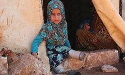 หนูน้อยพิการ 8 ขวบไม่ท้อ ใช้กระป๋องอาหารเป็นขาเทียม สู้ชีวิตในค่ายลี้ภัยซีเรีย