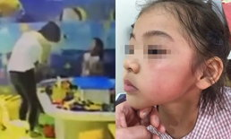 ชาวเน็ตจีนด่าแรง หญิงตบหน้าเด็กรัวๆ เหตุแย่งของเล่นคืนจากลูกตัวเอง