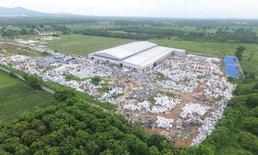 เปิดภาพโรงงานขยะอันตราย กลางสวนลำไยแปดริ้ว สั่งปิดทันที