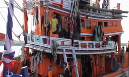 สุ่มตรวจเข้ม เรือประมงพาณิชย์ เพื่อป้องปรามการทำประมงผิดกฎหมาย