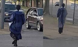 หนุ่มวัย 19 เดินเท้า 90 นาที ไปเรียนทุกวัน จนได้รถเป็นรางวัลจากนักจัดรายการวิทยุ