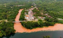 หนึ่งปีมีครั้งเดียว ปรากฏการณ์แม่น้ำ 2 สี ที่ท้ายเขื่อนสิริกิติ์