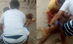 เด็กหนุ่มบราซิลเสียชีวิตน่าสลด เพราะโดนฉลามกัดอวัยวะเพศ