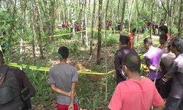 ญาติขอตรวจดีเอ็นเอรับศพชายนิรนาม ถูกฆ่าฝังดินสวนยางสุไหงปาดี