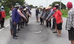 สุดจะทน! ชาวบ้านร้องถนนสายหลักพัง ไร้คนเหลียวแล มีผู้เสียชีวิตแล้วหลายราย