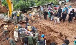 พบแล้ว ร่างเหยื่อโคลนถล่มน่าน ถูกดินฝังร่างเสียชีวิตยกครัว 7 ศพ
