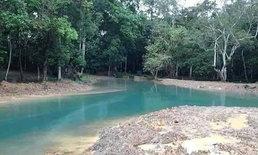 มหัศจรรย์ เปิดภาพล่าสุดรอบถ้ำหลวง-ขุนน้ำนางนอน น้ำกลายเป็นสีเขียวมรกต