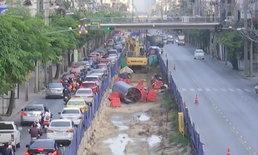 เปิดเส้นทางเลี่ยงรถติด ถนนลาดพร้าว ปิด 2 เลน 3 ปี สร้างรถไฟฟ้า