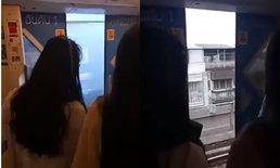 บีทีเอสชี้แจงดราม่า วิจารณ์ยับประตูรถไฟฟ้าเปิดออกระหว่างจะเข้าสถานี