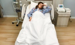 """""""หนิง ปณิตา"""" เผยภาพ """"เป้ย ปานวาด"""" เข้าโรงพยาบาล ปลอบเพื่อนอย่าเครียด ทำเพื่อลูก"""