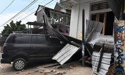 """แผ่นดินไหว """"เกาะลอมบอก"""" ซ้ำ! ขนาด 6.2 บ้านเรือนถล่ม-เสียหายเพิ่ม"""