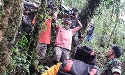 รอดตายปาฏิหาริย์ เด็กอินโดฯ 12 นอนเจ็บกลางป่า หลังเครื่องบินตก