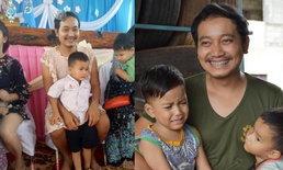 โด่งดังถึงเมืองจีน ชาวเน็ตชื่นชมคุณพ่อเลี้ยงเดี่ยวชาวไทยแต่งหญิงไปงานวันแม่