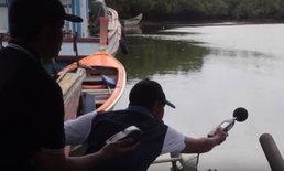ศูนย์ดำรงธรรมลุยตรวจท่าเรือท่องเที่ยว ชาวบ้านร้องเสียงท่อดัง-คนเรือแอบเสพยา