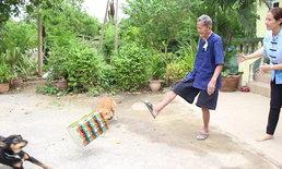 """พบคุณปู่ซู่ซ่า 5 แผ่นดิน อายุ 101 ปี ยังปึ๋งปั๋งเตะปี๊บดัง เผยยาอายุวัฒนะ """"น้ำพริกผักแว่น"""""""