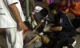 สาวไทยร่างโชกเลือดหอบลูกหนีตาย หลังแฟนฝรั่งคลั่ง-ไล่แทงเจ็บสาหัส