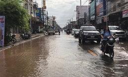 ตกทั้งคืน...น้ำโขงสูง น้ำท่วมเทศบาลหนองคาย เร่งระดมสูบน้ำท่วมตัวเมืองออก