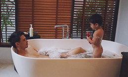 """""""ลิเดีย"""" เล่าประสบการณ์ตรง """"น้องดีแลน"""" เห็นงูขณะอาบน้ำกับคุณพ่อ"""