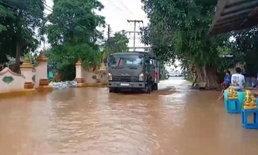 หล่มสักยังจม! แม่น้ำป่าสักเอ่อท่วมหลายชุมชน ระดับน้ำยังเพิ่มต่อเนื่อง