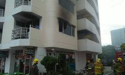 เพลิงไหม้โรงแรมกลางเมืองพัทยา นักท่องเที่ยวหนีตายวุ่น เสียหายครึ่งล้าน!