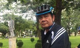 """""""บิ๊กตู่"""" ปั่นจักรยานที่บ้านพิษณุโลก ปัดถือเคล็ดนายกฯ 2 สมัย"""