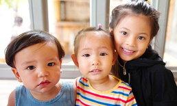 """ลูกๆ แก๊งนางฟ้า """"ควินน์-ริชา-บีน่า"""" มิตรภาพน่ารัก จากรุ่นแม่สู่รุ่นลูก"""
