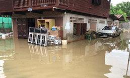 ชาวพิมานโอด! ฝนตก-น้ำป่าทะลัก ท่วมกว่า 4 หมู่บ้าน จนท.เร่งช่วยเหลือ