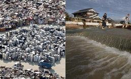 """ชาวเน็ตยกนิ้ว """"ญี่ปุ่น"""" ยังแยกขยะ แม้น้ำท่วมครั้งใหญ่ - ยอดตายพุ่ง 180 ศพ"""