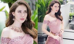"""""""แมท ภีรนีย์"""" โสดแล้วสวยมาก แต่งชุดไทยถ่ายแฟชั่น สง่างามไร้ที่ติ"""