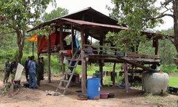 ทลายสำนักสงฆ์รุกป่าสงวน  ชาวบ้านขวาง อ้างหลวงปู่ให้หวยแม่น
