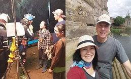 """ยิ่งกว่าบุพเพฯ """"ริค สแตนตัน"""" นักดำน้ำฮีโร่ พบรักพยาบาลสาวไทย ก่อนทำงานเคียงข้างกันที่ถ้ำหลวง"""