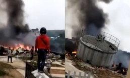 สลด เครื่องบินขับไล่กองทัพจีน ตกขณะฝึกซ้อม สองนักบินเสียชีวิต