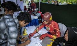เจ้าหน้าที่จัดการเลือกตั้งอินโดฯโหมงานหนัก ป่วยตายแล้วมากกว่า 270 คน