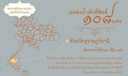 พระราชพิธีบรมราชาภิเษก: แหล่งน้ำศักดิ์สิทธิ์-สถานที่ประกอบพิธีทำน้ำอภิเษก สุราษฎร์ธานี
