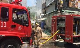ไฟไหม้ร้านอาหารโรงแรมกลางเมืองพัทยา ไทย-ฝรั่งวิ่งหนีจ้าละหวั่น