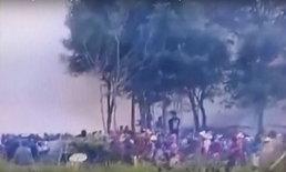 หนีตายระทึก บั้งไฟปะทุพุ่งใส่ชาวบ้านตาย 1 เจ็บ 14