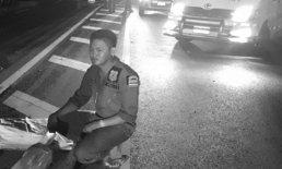 พบแล้ว! ชิ้นส่วนชายนั่งวีลแชร์ท่อนบน รถบรรทุกชนเละลากศพข้ามอำเภอ