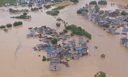จีนตอนใต้น้ำท่วมหนัก กระทบกว่าล้านชีวิต ดับแล้วนับสิบ