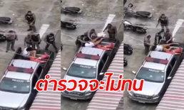 คลิปว่อนโซเชียล 7 ตำรวจรุมซ้อมผู้ต้องหา ผู้กำกับฯ ยอมรับลูกน้องหมดความอดทน