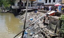 ระทึก! ศาลาทรงไทยริมแม่น้ำแม่กลองถล่ม เจ็บกว่า 20 ราย สูญหายอีก 2 (มีคลิป)